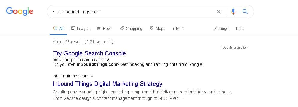search results solicitors seo